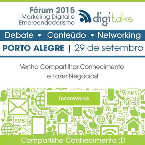 Meeting Digitalks no dia 29 de setembro em Porto Alegre