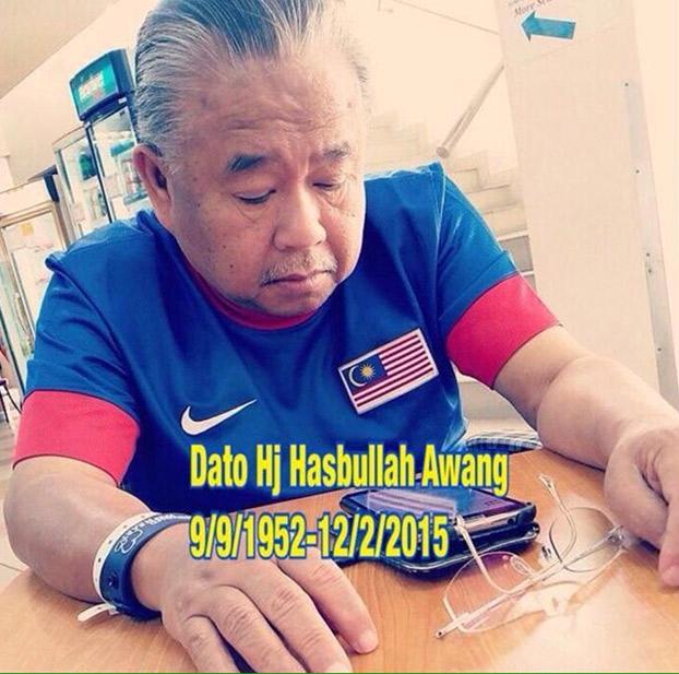 Dato' Haji Hasbullah Awang Meninggal Dunia