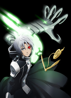 D. Gray-Man anime manga