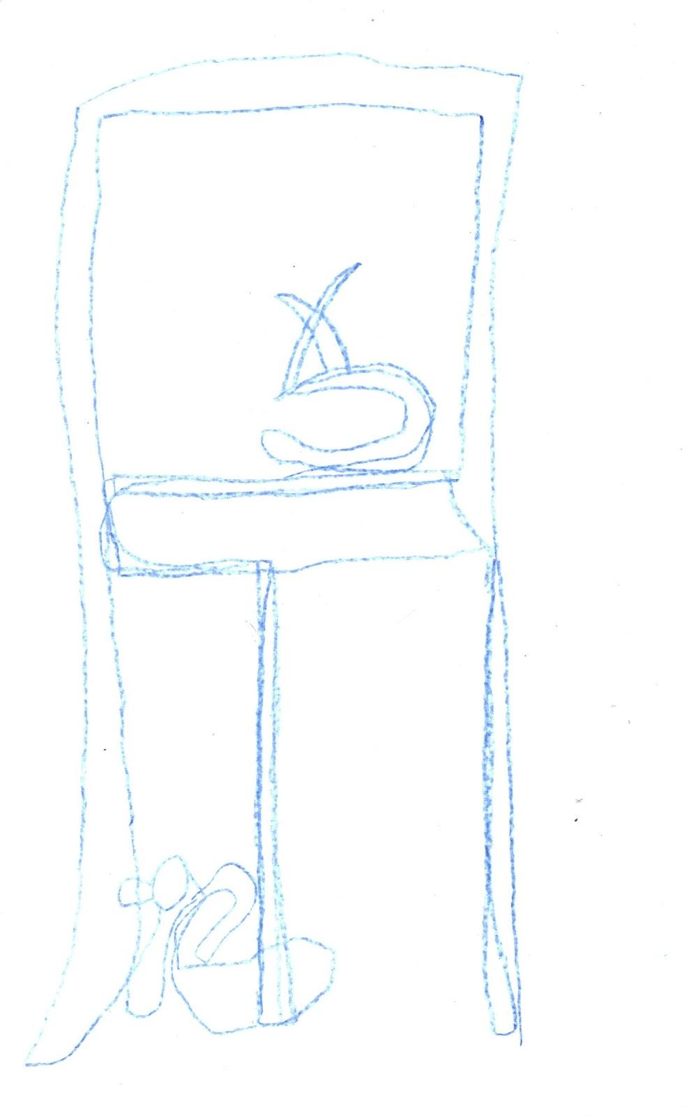 Modified Contour Line Drawing : Susan walker art travel journal class