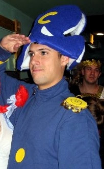 Cap'n Crunch Halloween Costume