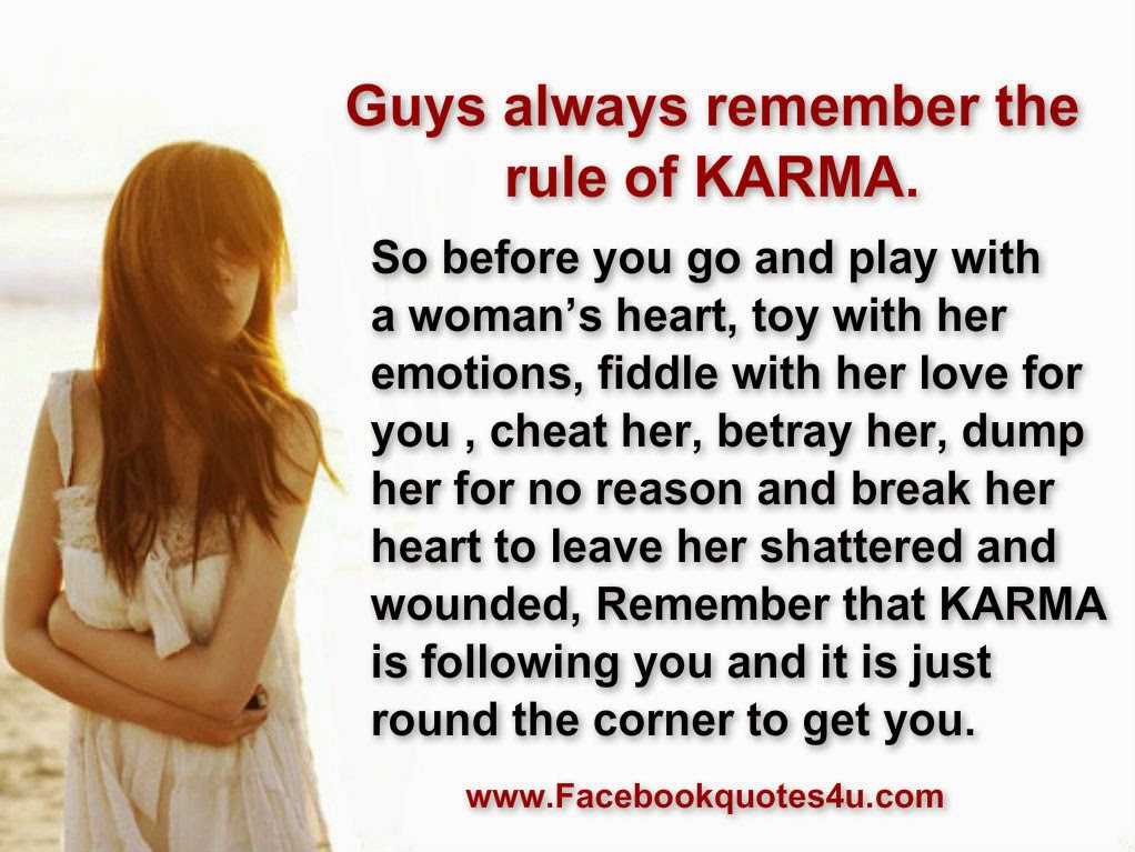 Quotes about karma and cheating quotesgram - All about karma ...