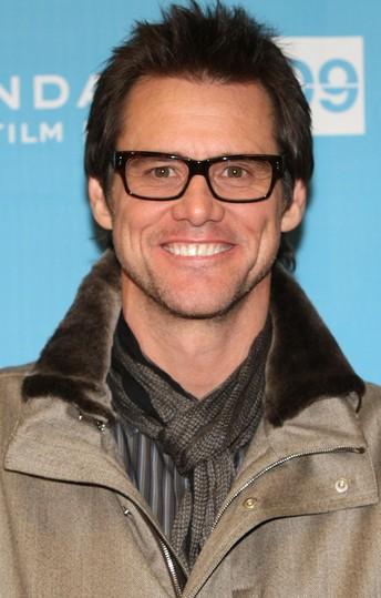Jim Carrey con lentes