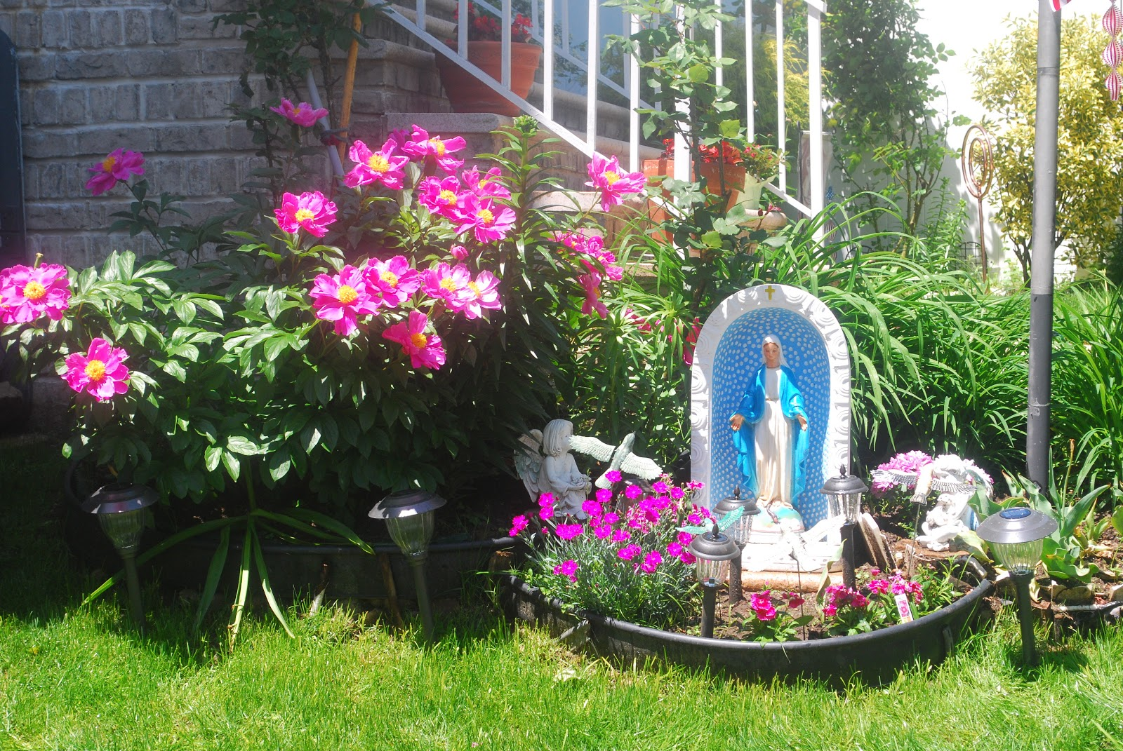 Ashes From Burnt Roses Faith Filled Friday Madonna Garden In