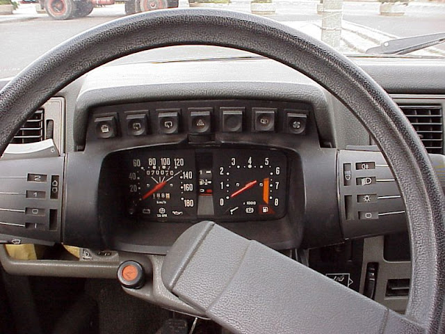 Romanian Oltcit Club 11 driver view