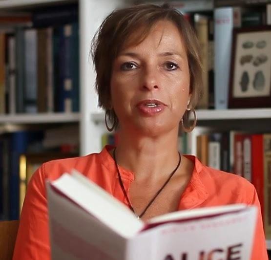 Miriam Gebhardt. (Screen capture from YouTube video)
