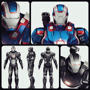 It looks like Marvel is relaunching the Iron Patriot across all three of . (war machine im )