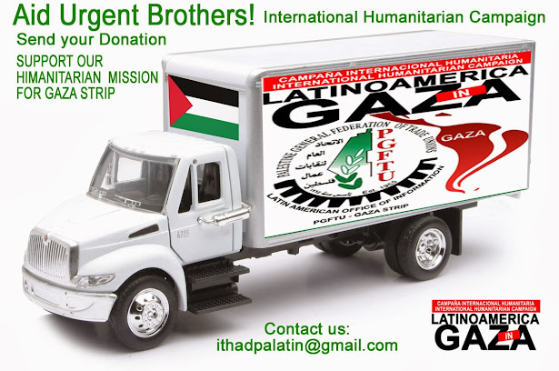 ►AID URGENT - SUPPORT TO OUR HUMANITARIAN MISSION TO GAZA