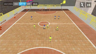 Screenshots of the Street soccer 2015 for Android tablet, phone.