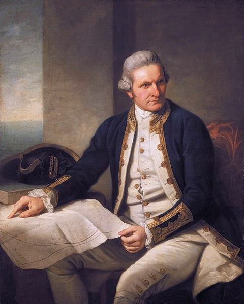 James Cook by Nathaniel Dance-Holland, 1776