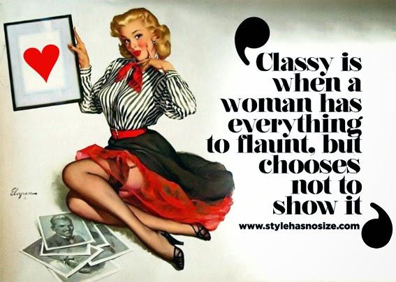 Feminists lack class