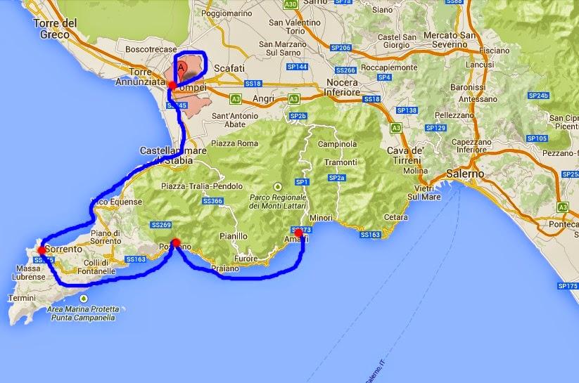File: Cartina Golfo di Napoli e costiera amalfitana.jpg