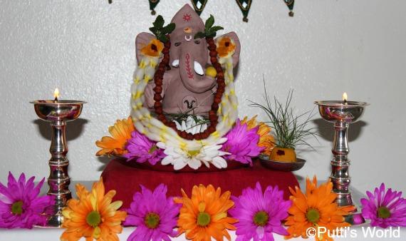 Ganesha Festival diy clay idol