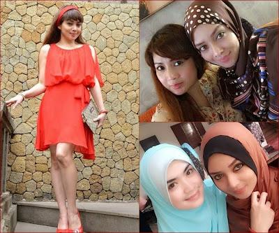 Terry Putri Padukan Baju Seksi Dengan Hijab