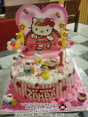 Hello Kitty Birthday Cake Daerah Surabaya - Sidoarjo