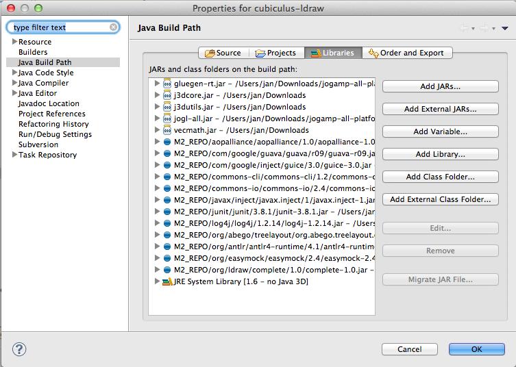 Java Graticule 3D screenshot