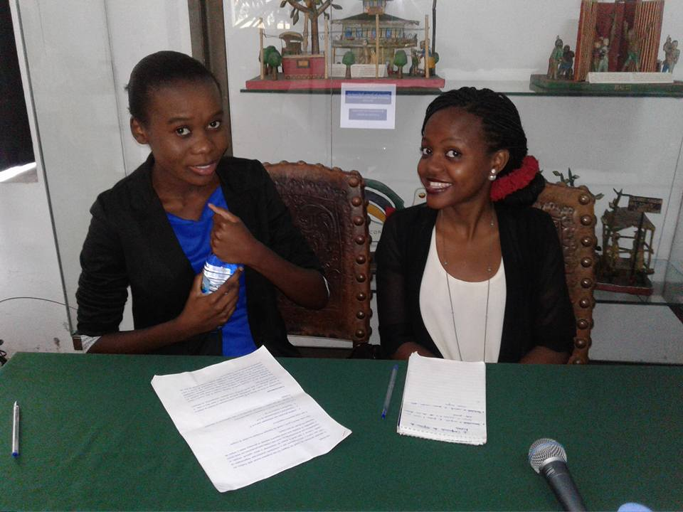 Colegas pesquisadoras - Lucia e Belquice