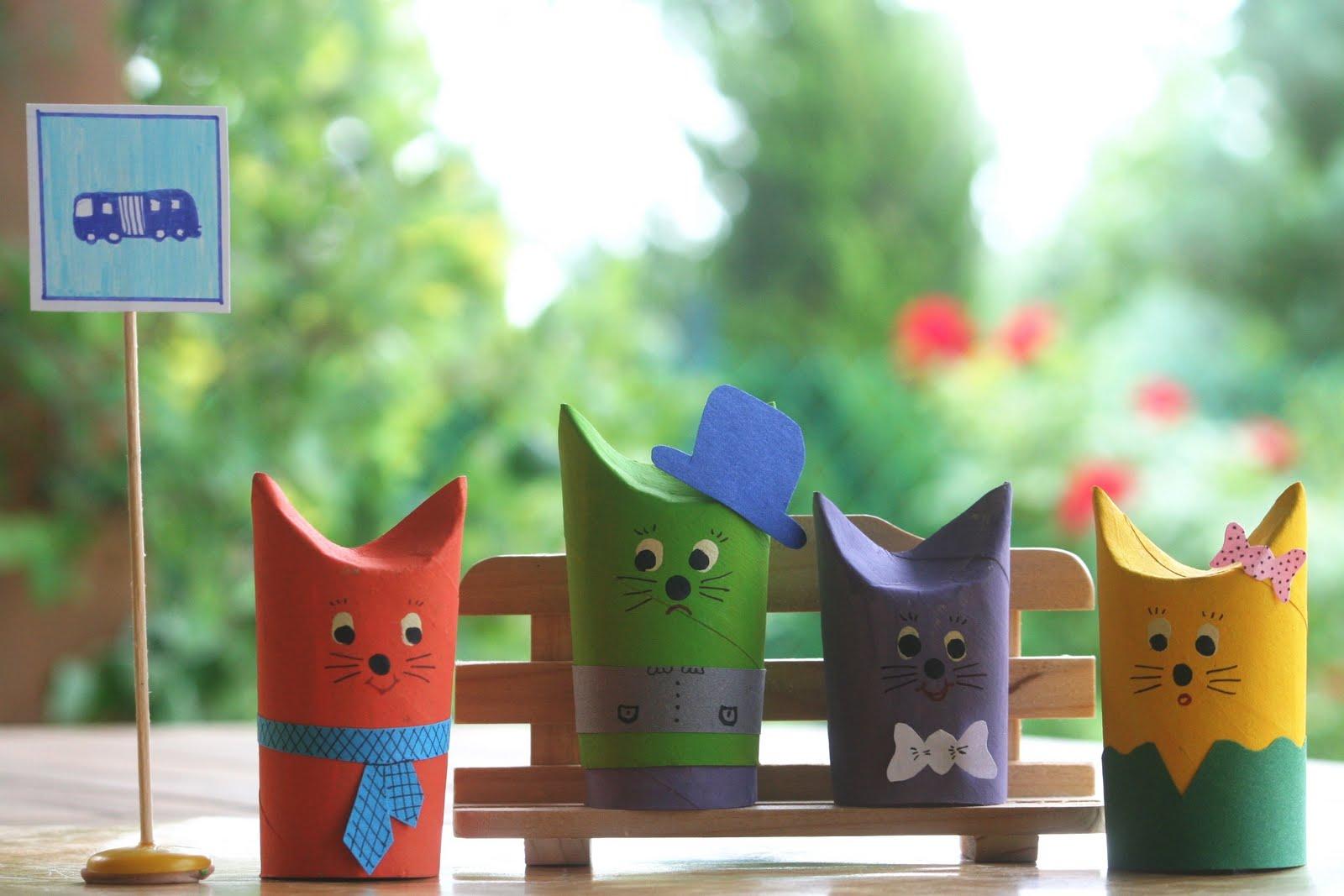 Поделки из рулонов туалетной бумаги: идеи для творчества