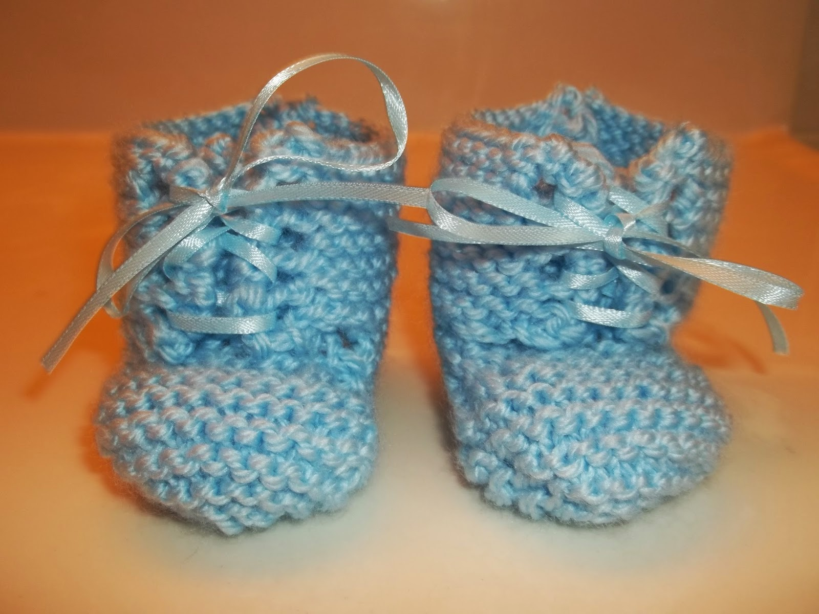 Jaime of All Trades Knit Booties for a Baby Boy