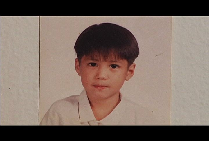 Aljur Abrenica during his childhood