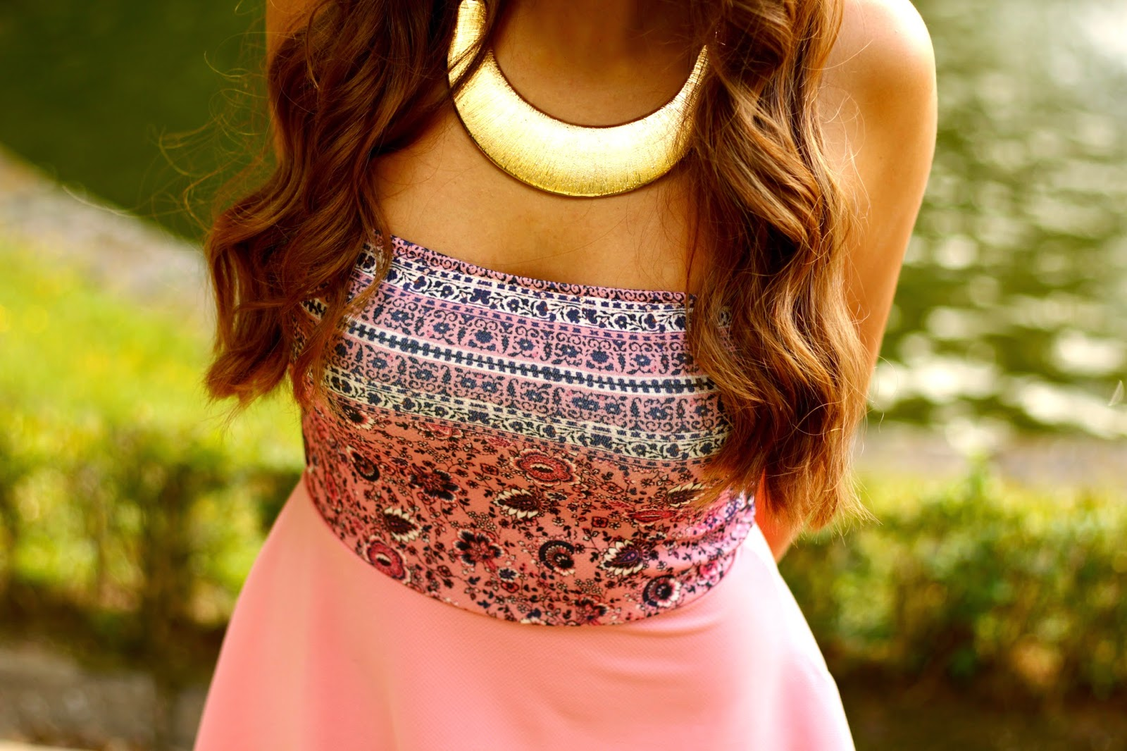 Outfit vestido dress rosa pink