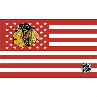 Chicago Blackhawks NHL 3x5 Flag Banner