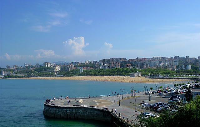 Segunda Playa del Sardinero en Santander