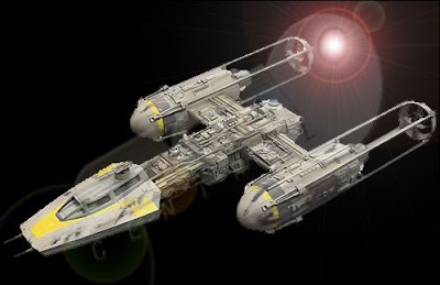 nave y-win star wars