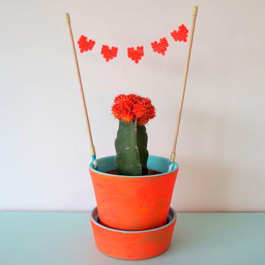 Knutselen met kleintjes: cactuspot pimpen