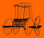 Carruagem nômade inteiramente em madeira, Altaí, sec. V-IV a.C.