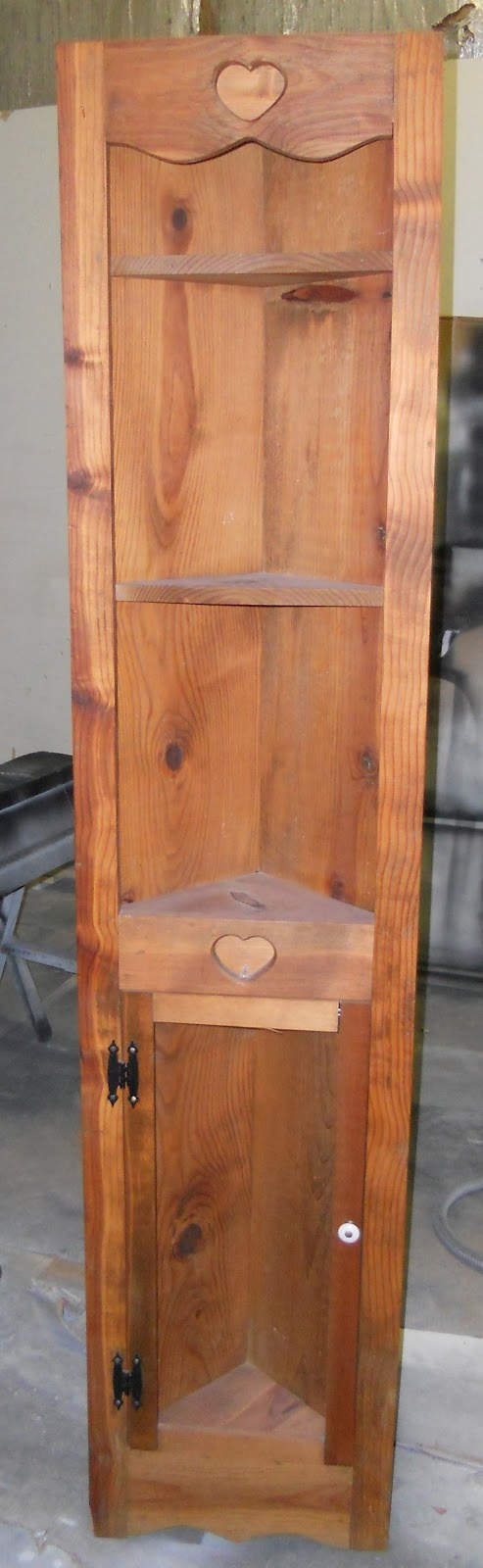 createinspire}: French Country Corner Cabinet