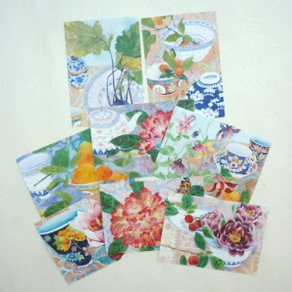Gabby Malpas watercolour on paper postcards