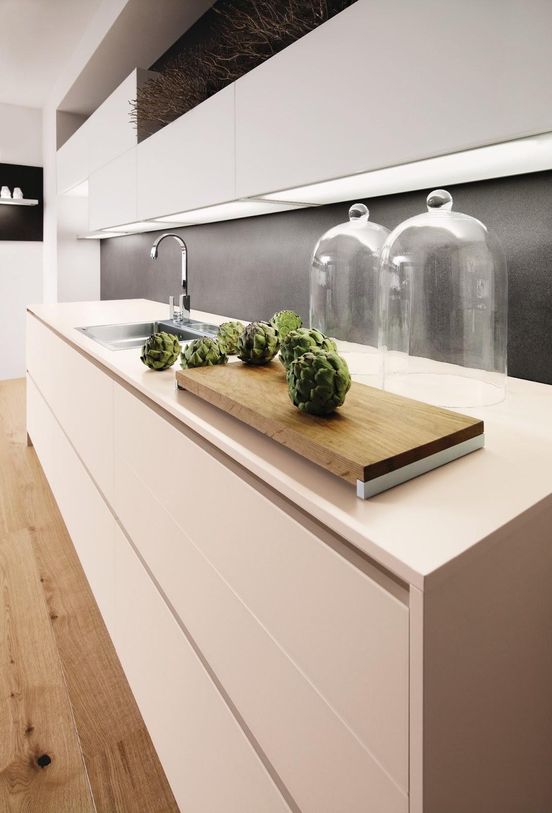 Cuisine beige for Eclairage meuble de cuisine