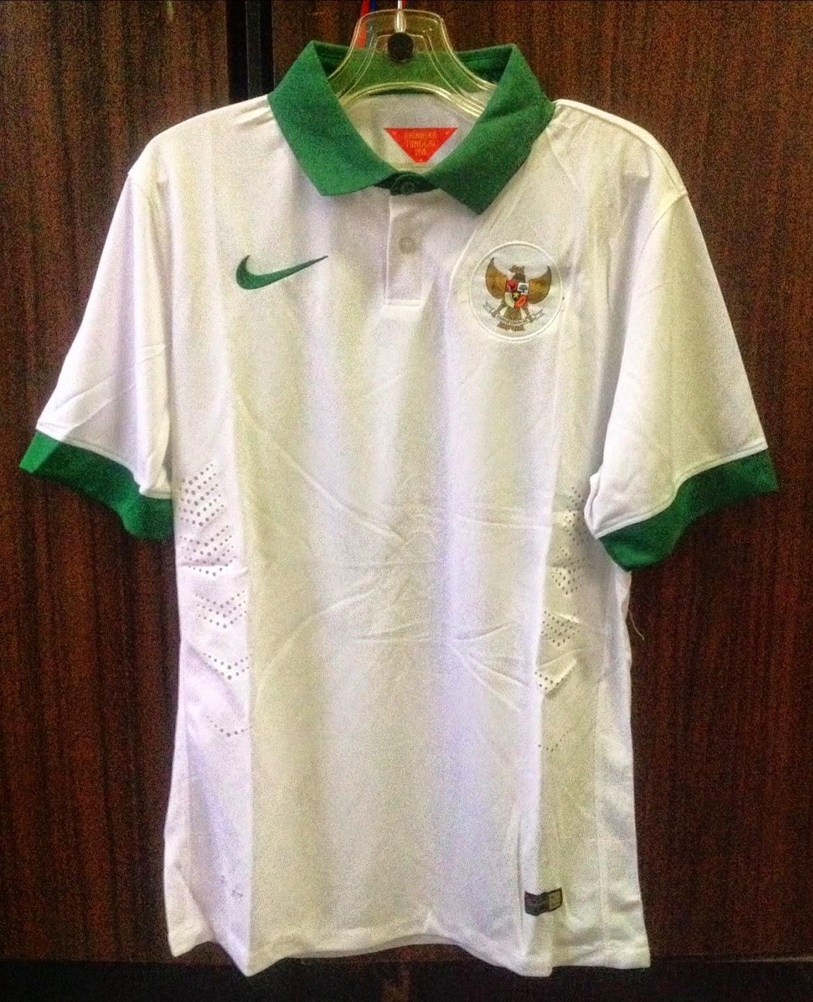 Jersey Timnas Indonesia Away AFC 2014 - 2016 Grade Original