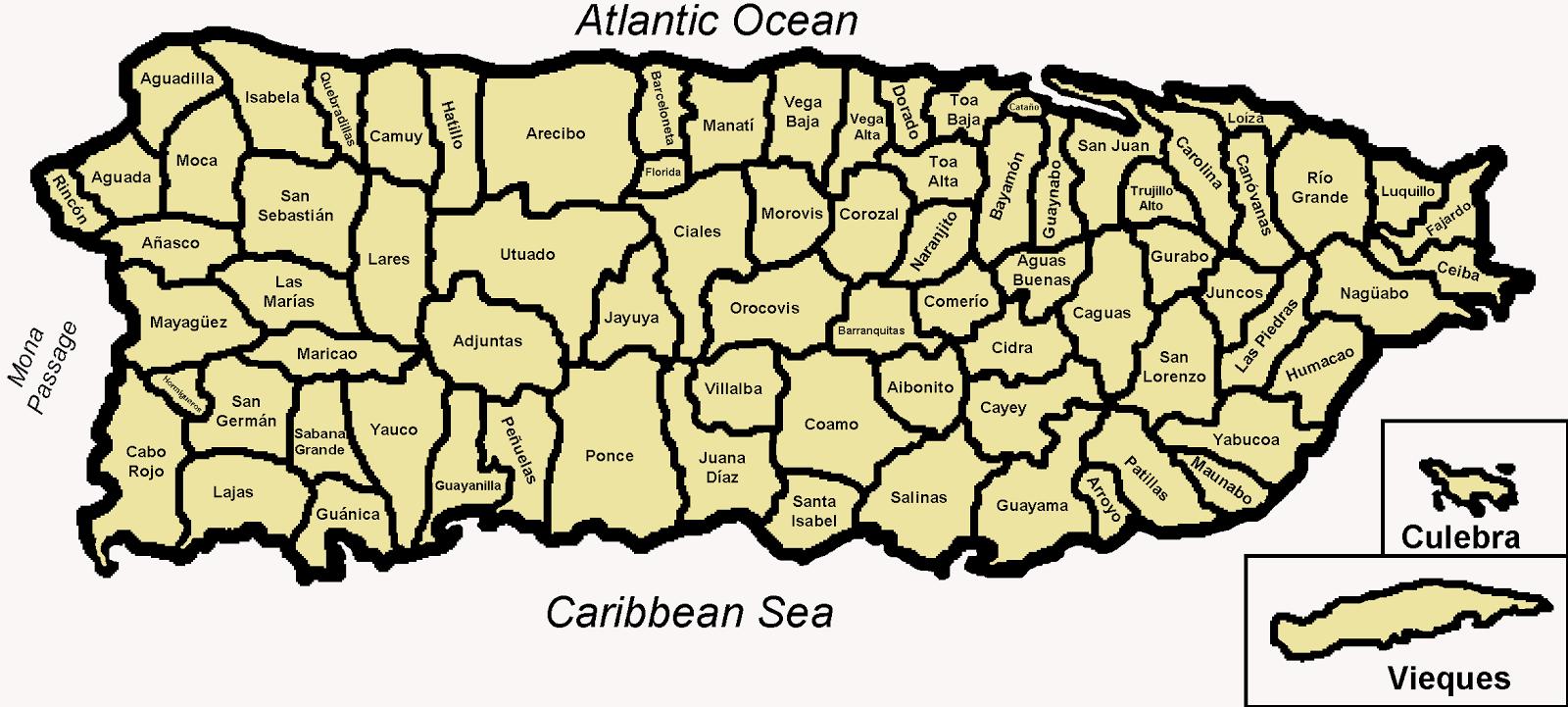 Ciudades de Puerto Rico