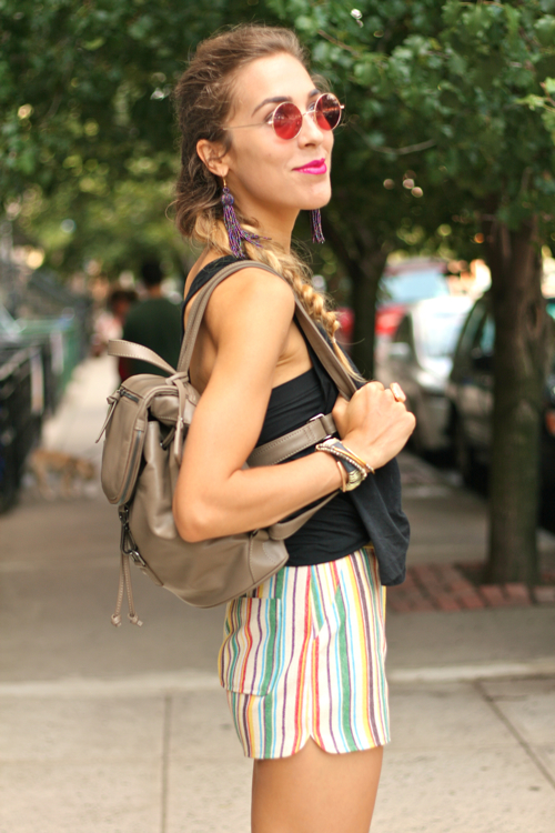 StyleAndPepperBlog.com : : Concrete Catwalk // Late-Summer Shorts