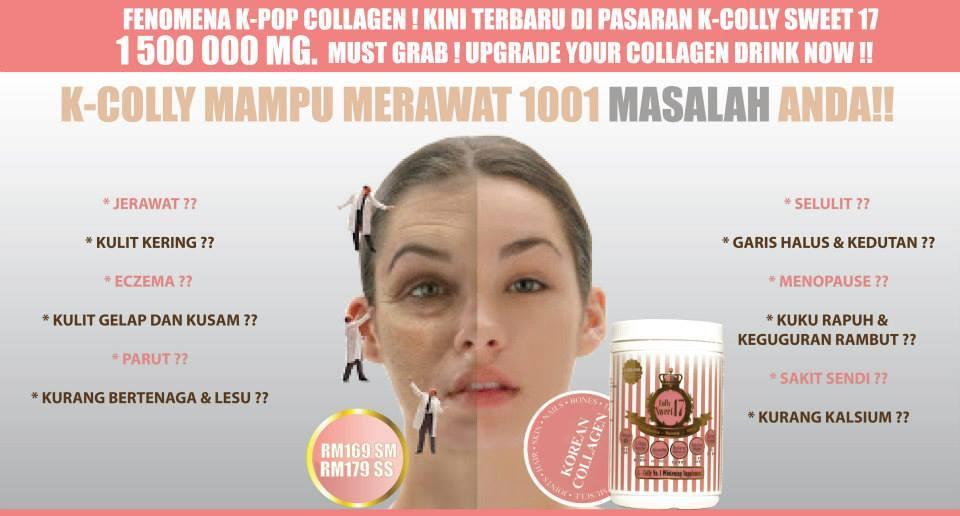 K Colly Collagen Harga K-Colly Sweet 17 adalah produk