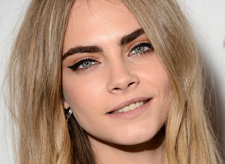 Cara Delevingne Natural Hair Color