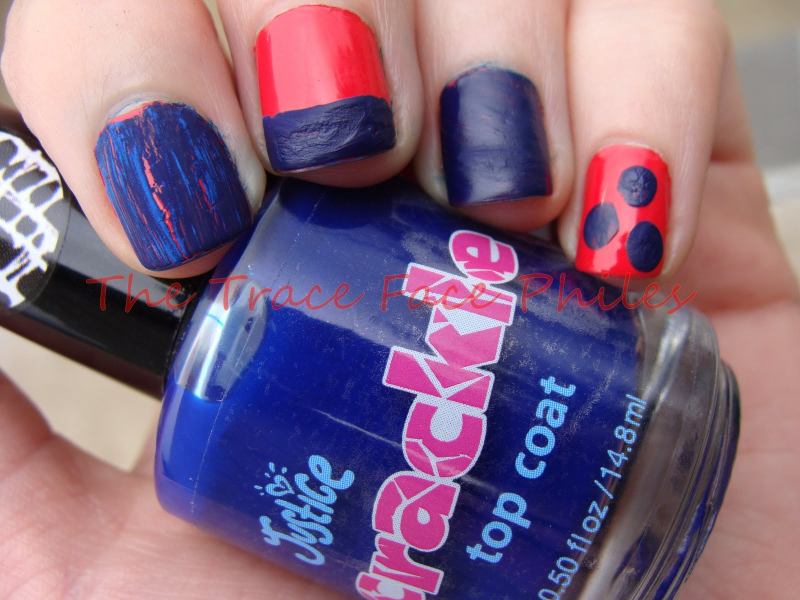 MENYOK ENAK: Justice Crackle Top Coat!