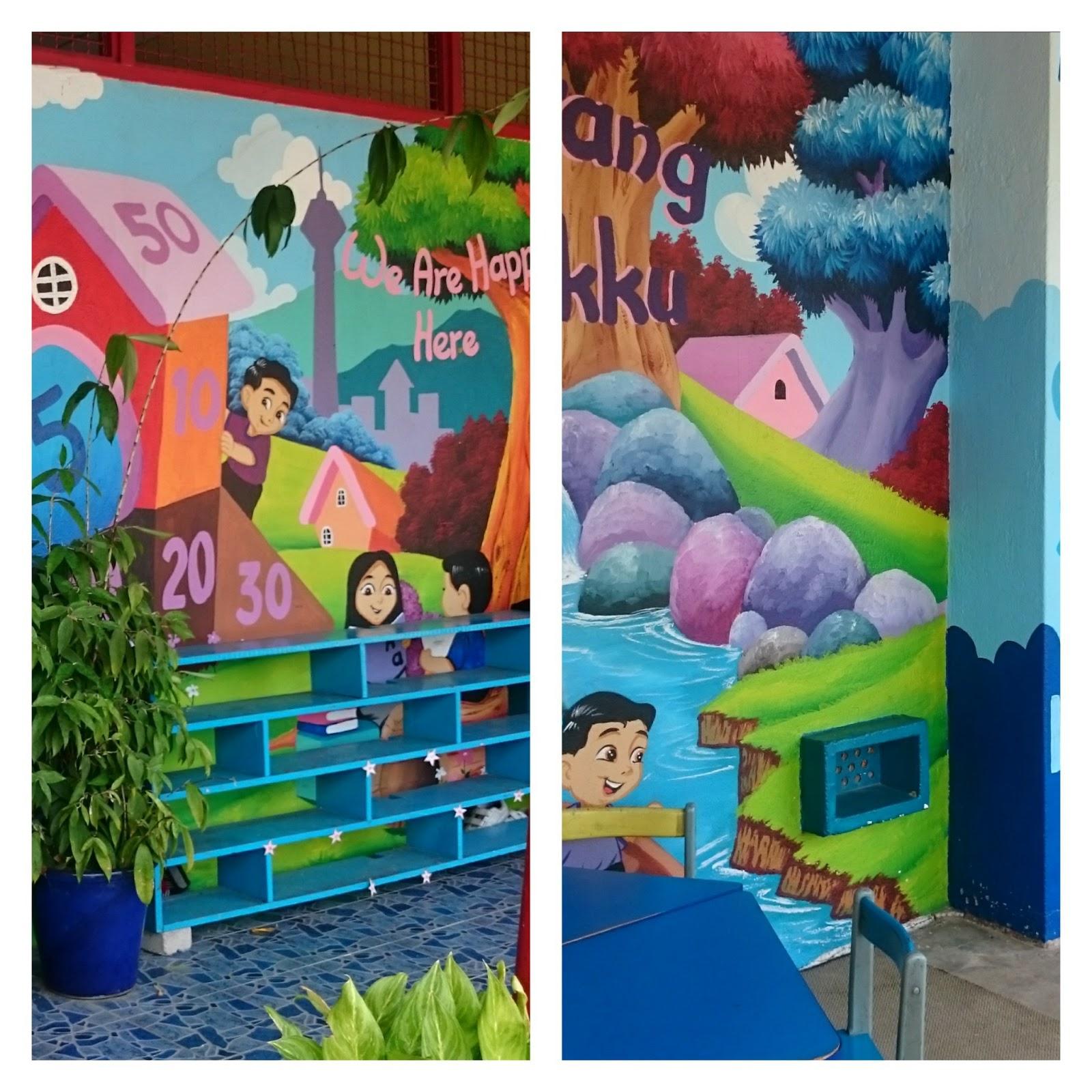 Kembara minda 7 lukisan mural pra taqwa sk kadok for Mural sekolah
