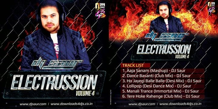 DJ SAUR - ELECTRUSSION VOL.4