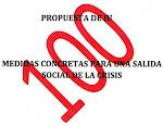 100 propuestas para una salida social de la crisis