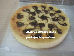 Kek Keju Marble
