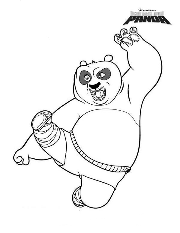 Welcome To Kung Fu Panda Coloring Pages Is The Latest Sensation Which Has Gripped Attention Of Many Viewers