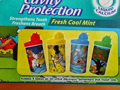 Beli colgate dapat FREE botol air