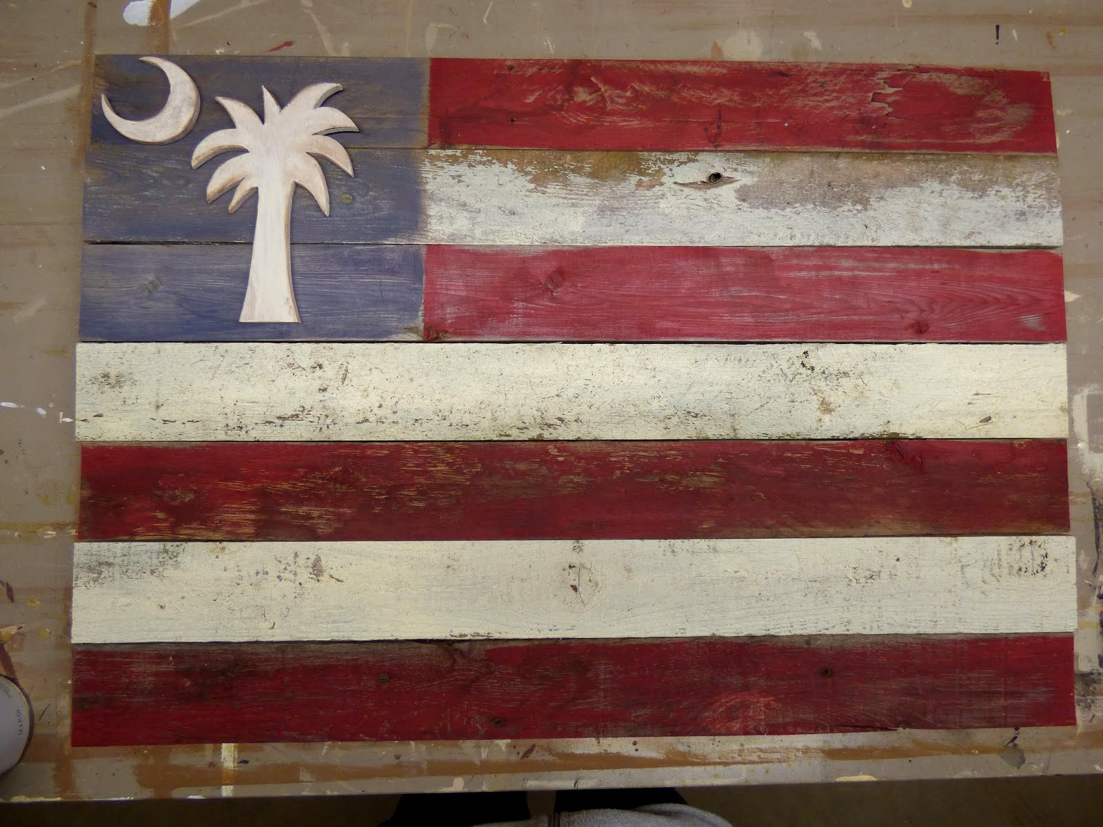 Prim South Carolina Flag
