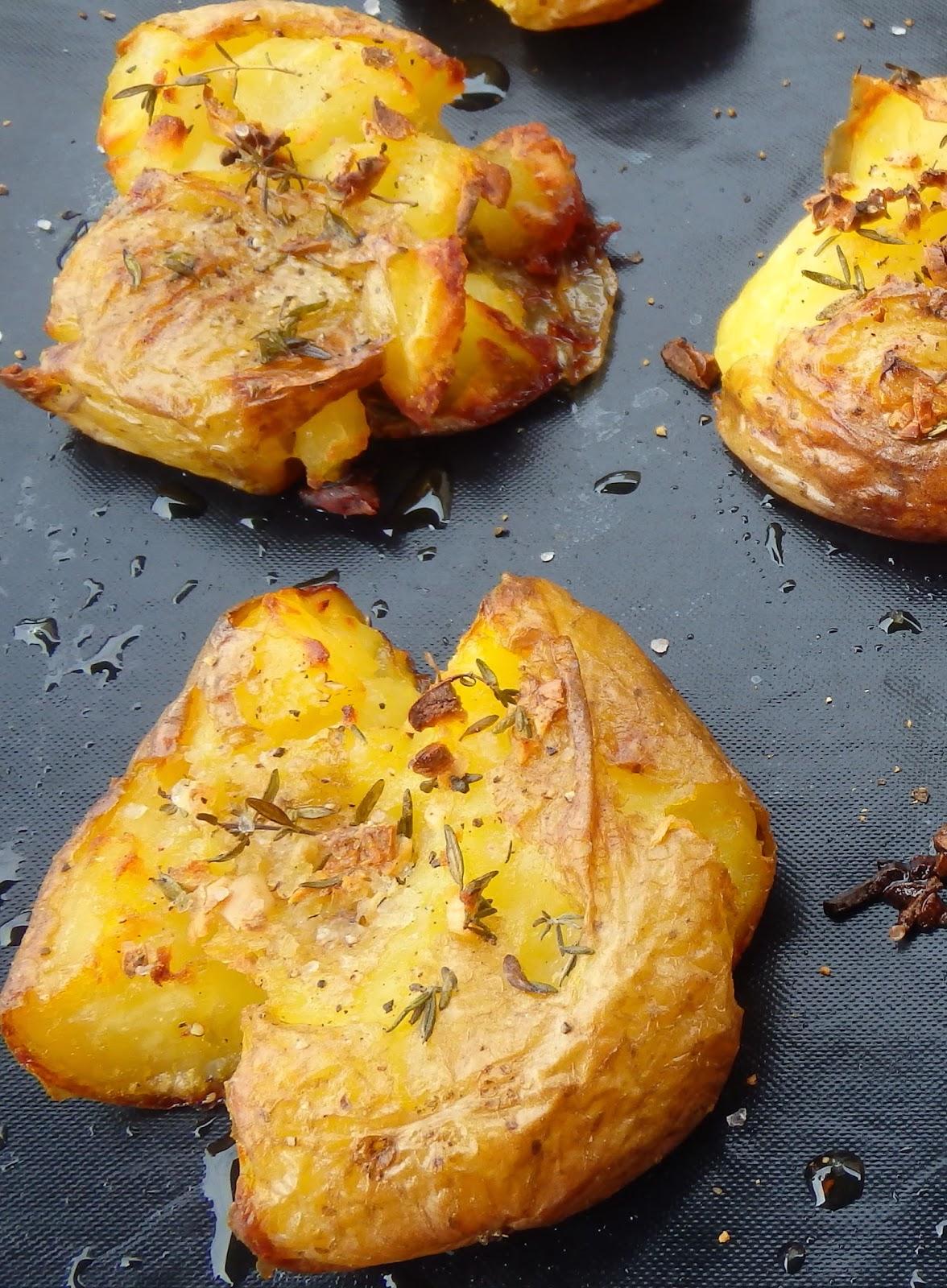 Les receptes que m 39 agraden patatas al horno tiernas y - Patatas pequenas al horno ...