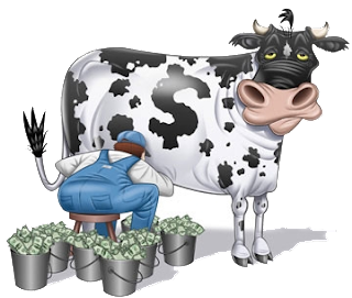 Thinking about starting your home business? Then research the cow.