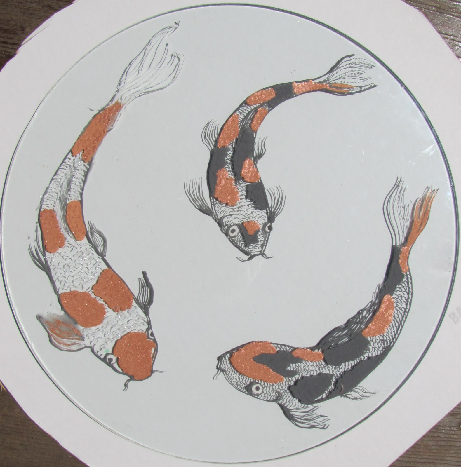 Lynfeudner New Koi Fish Disk And Koi For Mobiles