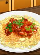 Спагетти болоньезе - Онлайн игра для девочек